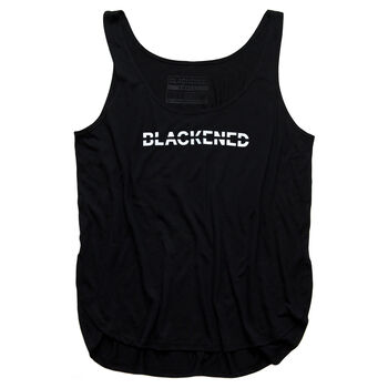 Women's Blackened Whiskey Flowy Slit Tank, , hi-res