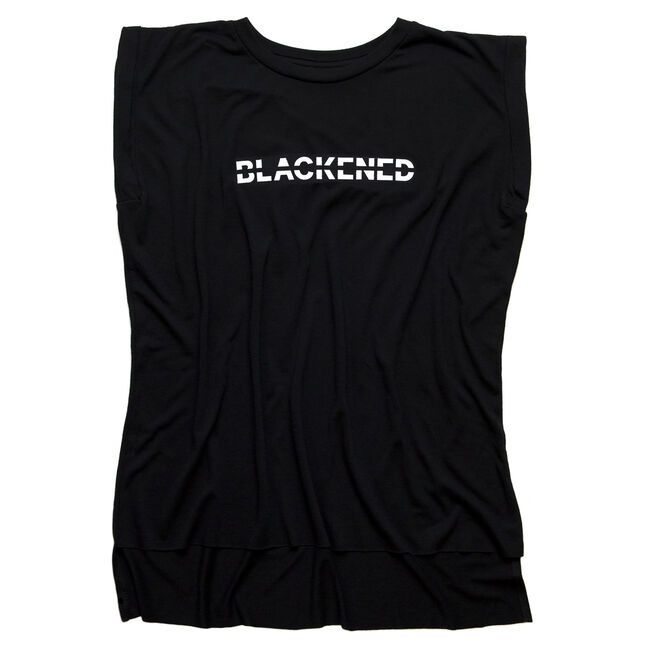 Women's Blackened Whiskey Flowy Muscle Shirt, , hi-res