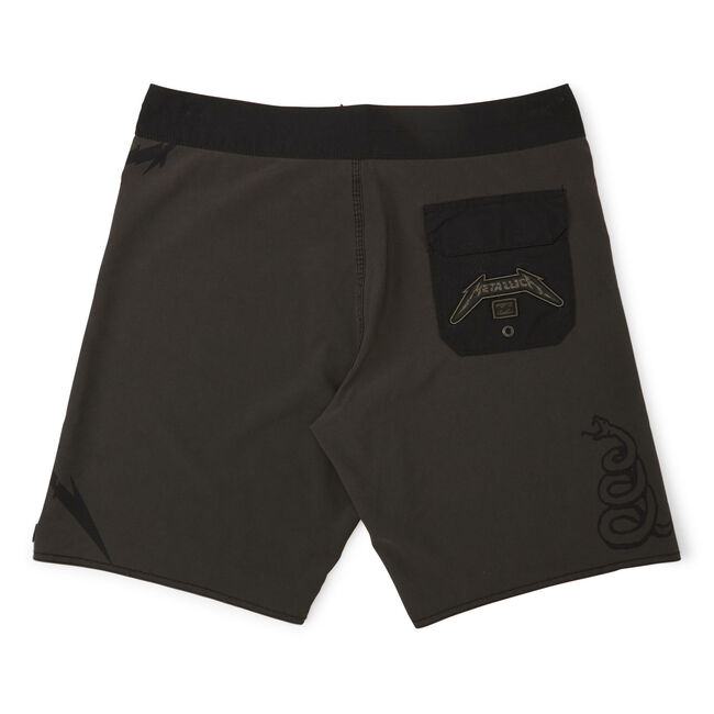 Billabong x Metallica BLACK ALBUM Boardshorts - 30, , hi-res