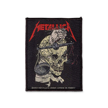Harvester Of Sorrow Woven Patch, , hi-res