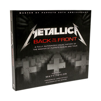 Metallica: Back to the Front - Hardcover Book, , hi-res