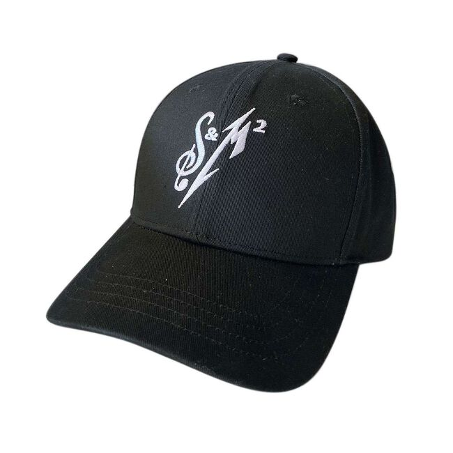 S&M² White Logo Adjustable Hat, , hi-res