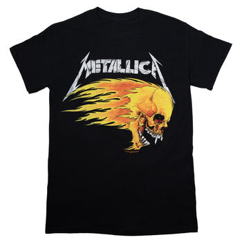 Flaming Skull 1994 Tour T-Shirt, , hi-res