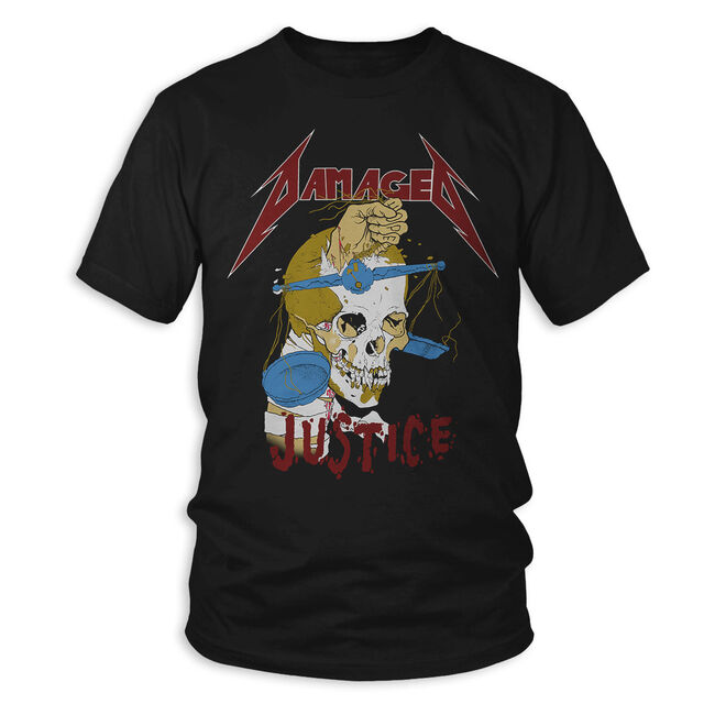 Damaged Justice T-Shirt, , hi-res