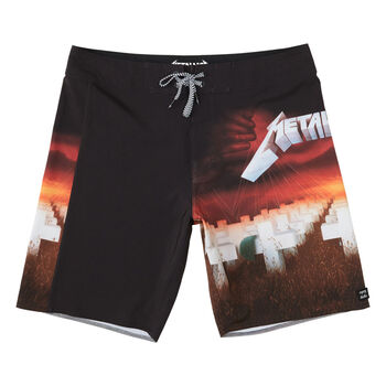 Billabong x Metallica Master of Puppets Boardshorts, , hi-res