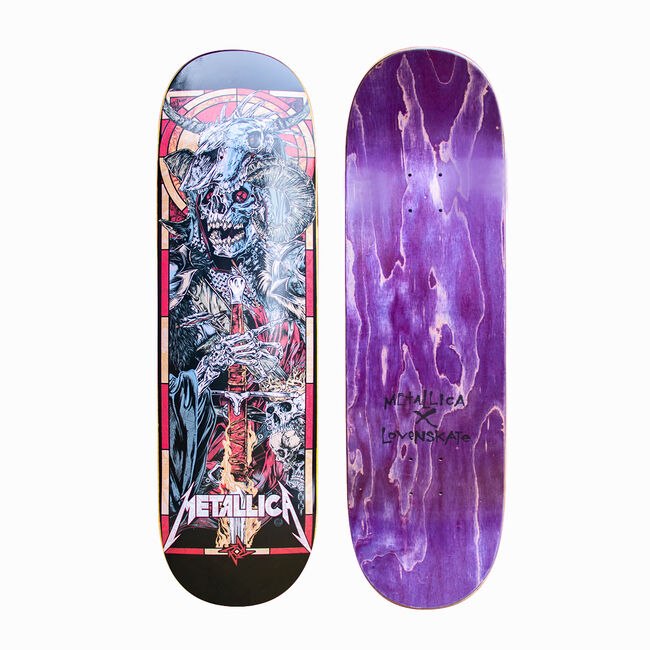 The Four Horsemen War Skate Deck and T-Shirt Bundle, , hi-res