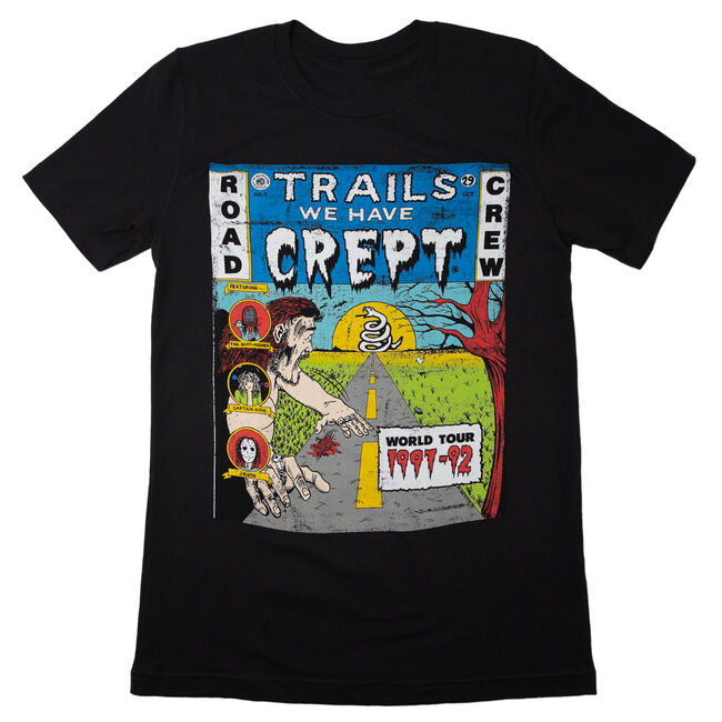 Trails We Have Crept Distressed T-Shirt - Small, , hi-res