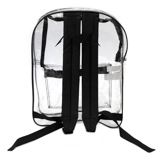 Metallica Logo Clear Backpack, , hi-res