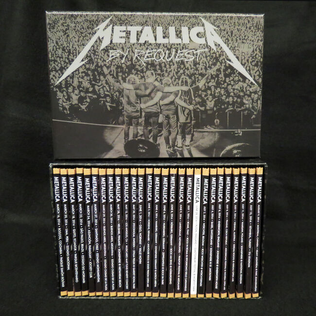 Live Metallica: By Request 2014 CD Box Set, , hi-res